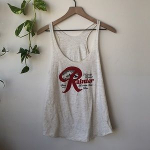 Rainier Beer Tank Top